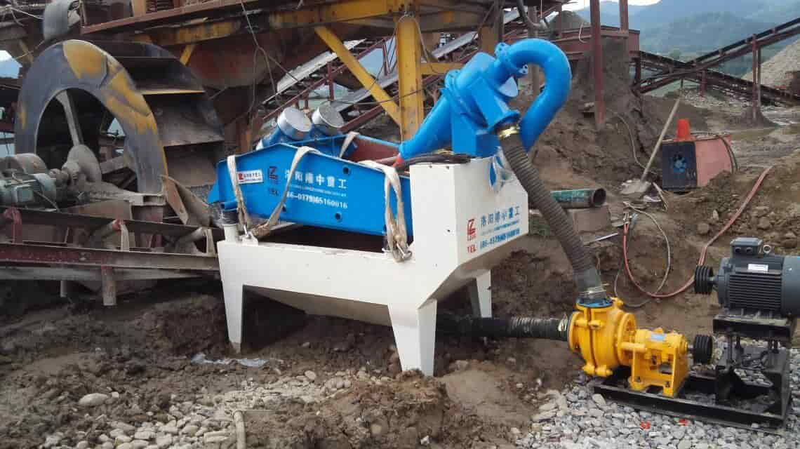 the fine sand recycling machine