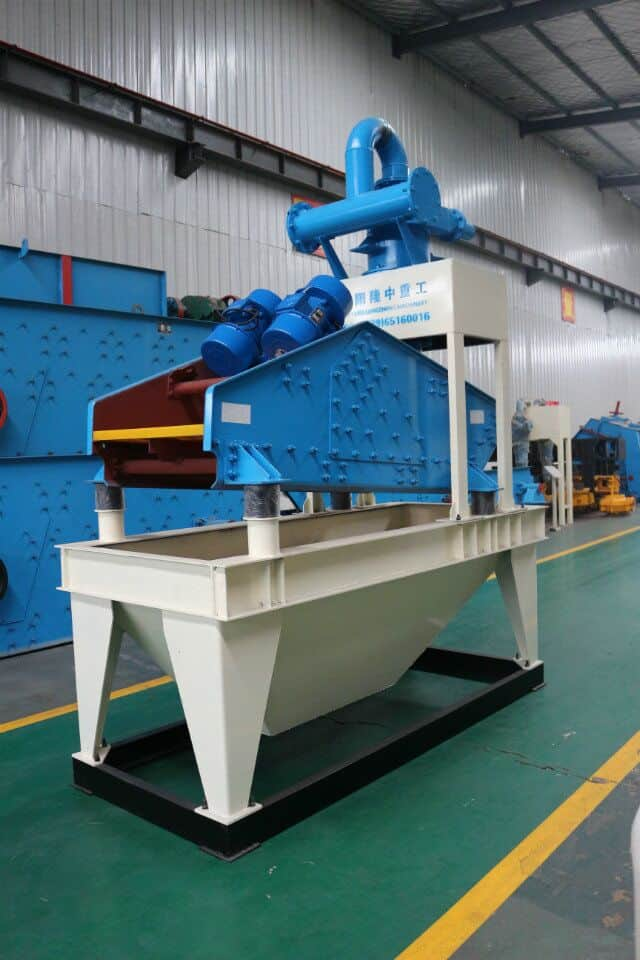 easy operation and maintenance taling dewatering screen