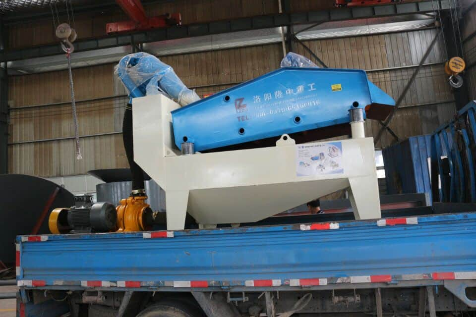 How to maintain the fine sand recycling machine