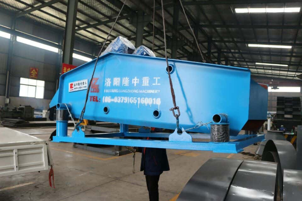 The vibrating dewatering screen--A high quality screening equipment.