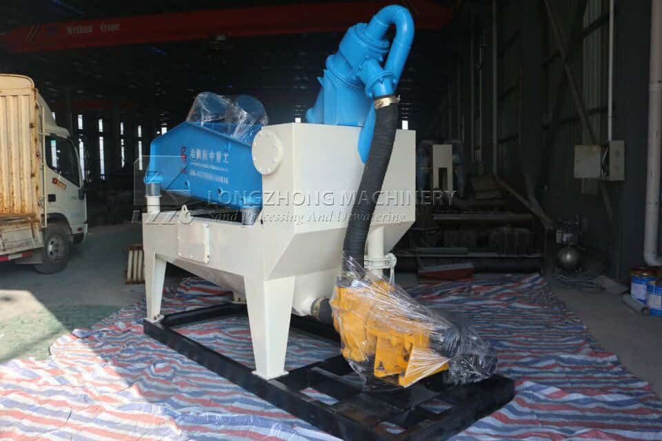 How to solve the noise problem of fine sand recycling machine