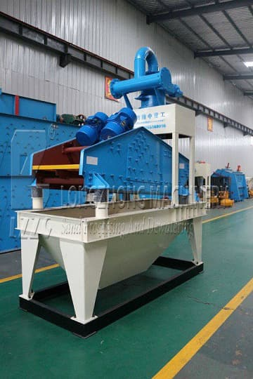 Fine sand recycling machinery is an essential equipment.