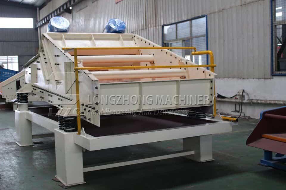 screening efficiency of dewatering screen
