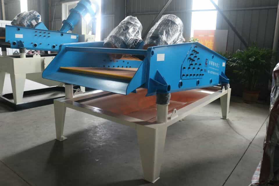 Ideal dewatering screen for sandstone plant - lzzg dewatering screen.