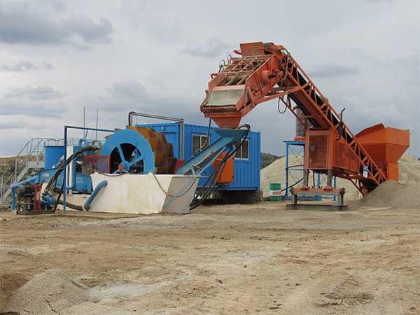 china wheel sand washing machine