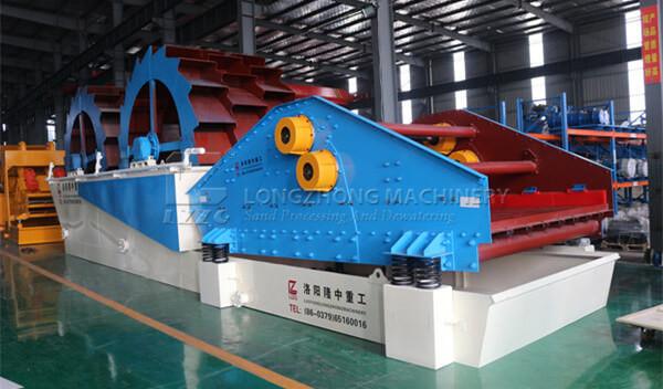 Dual Wheel Sand Washing & Recycling Machine
