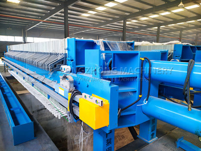 frame and plate filter press
