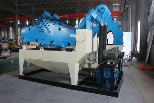 sand-recycling-machine