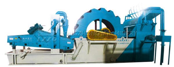 Trommel Type Sand Washing Machine